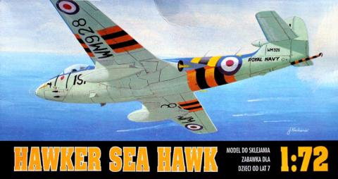 Коробка Chematic 001 Hawker Sea Hawk
