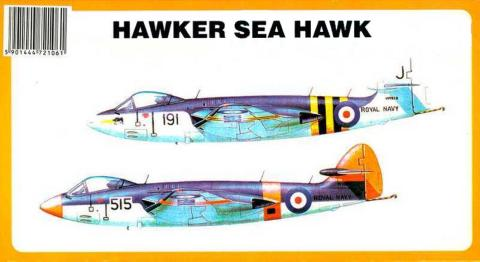 Схема окраски Chematic 001 Hawker Sea Hawk