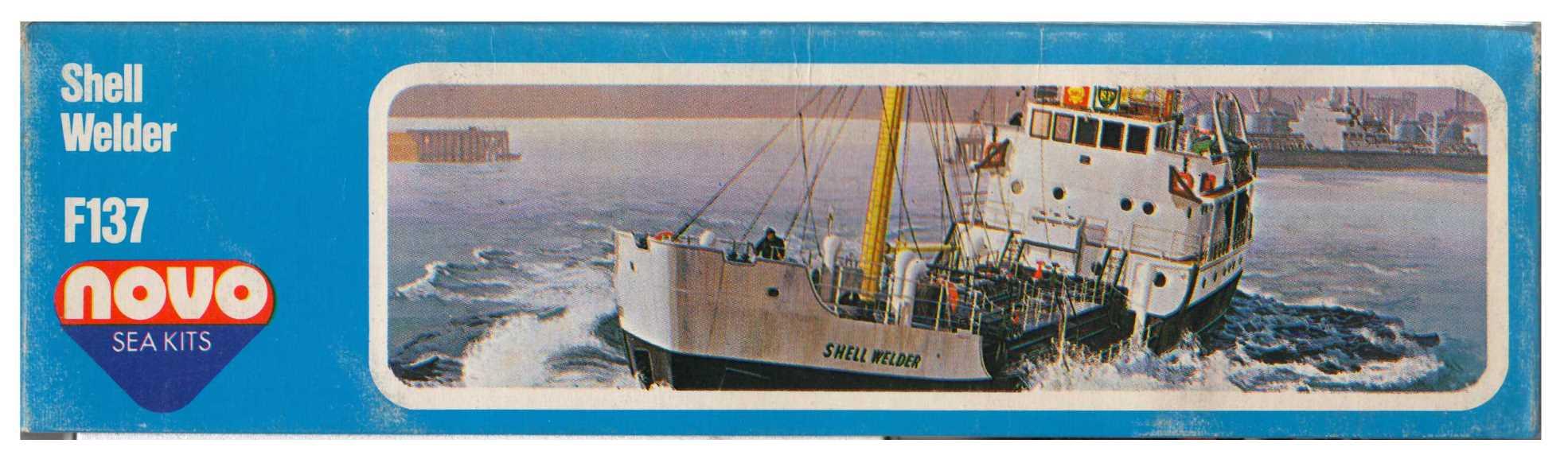 Малая сторона коробки NOVO F137 Shell Welder - coastal tanker