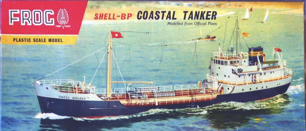 Коробка FROG F137 Shell Welder - coastal tanker