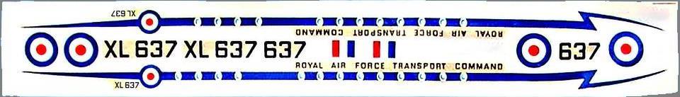 Лепесток бюджетной упаковки Britannia C.Mk.1 без названия фирмы