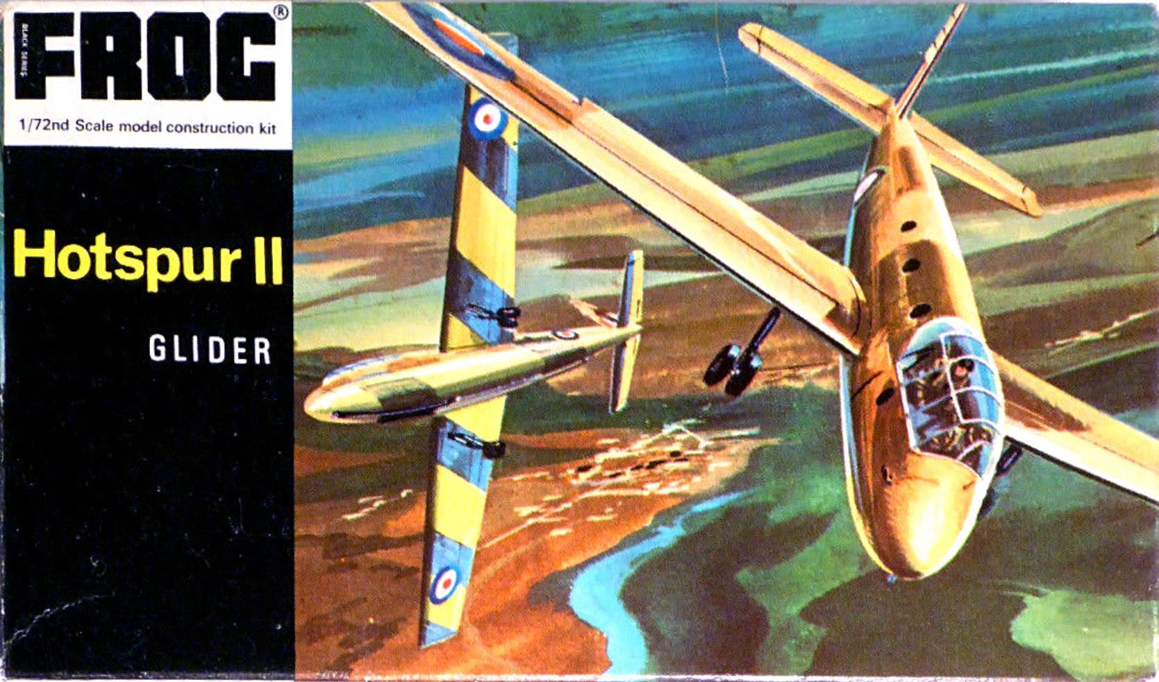 Верх коробки FROG F152 Hotspur II Glider