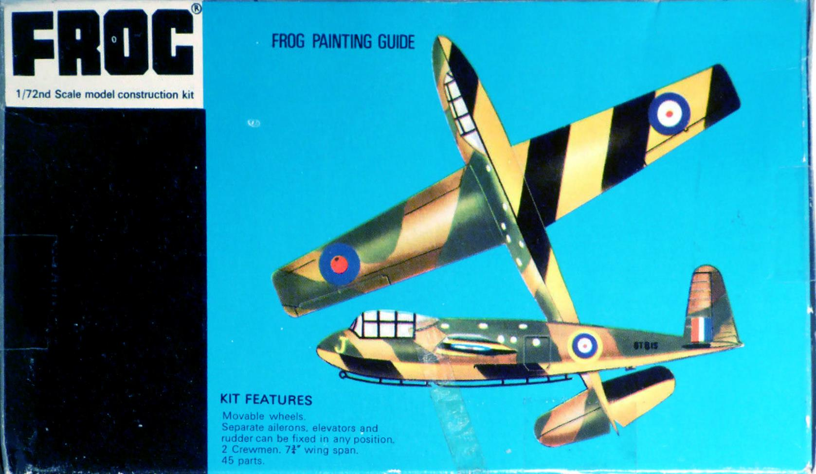 Схема окраски и маркировки FROG F152 Hotspur II Glider