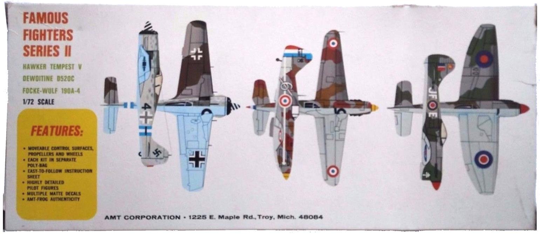 Руководство по окраске AMT 3956 Famous Fighters