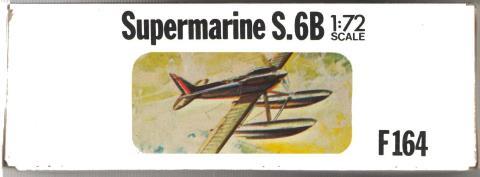 Малая сторона коробки F164 Supermarine S.6B