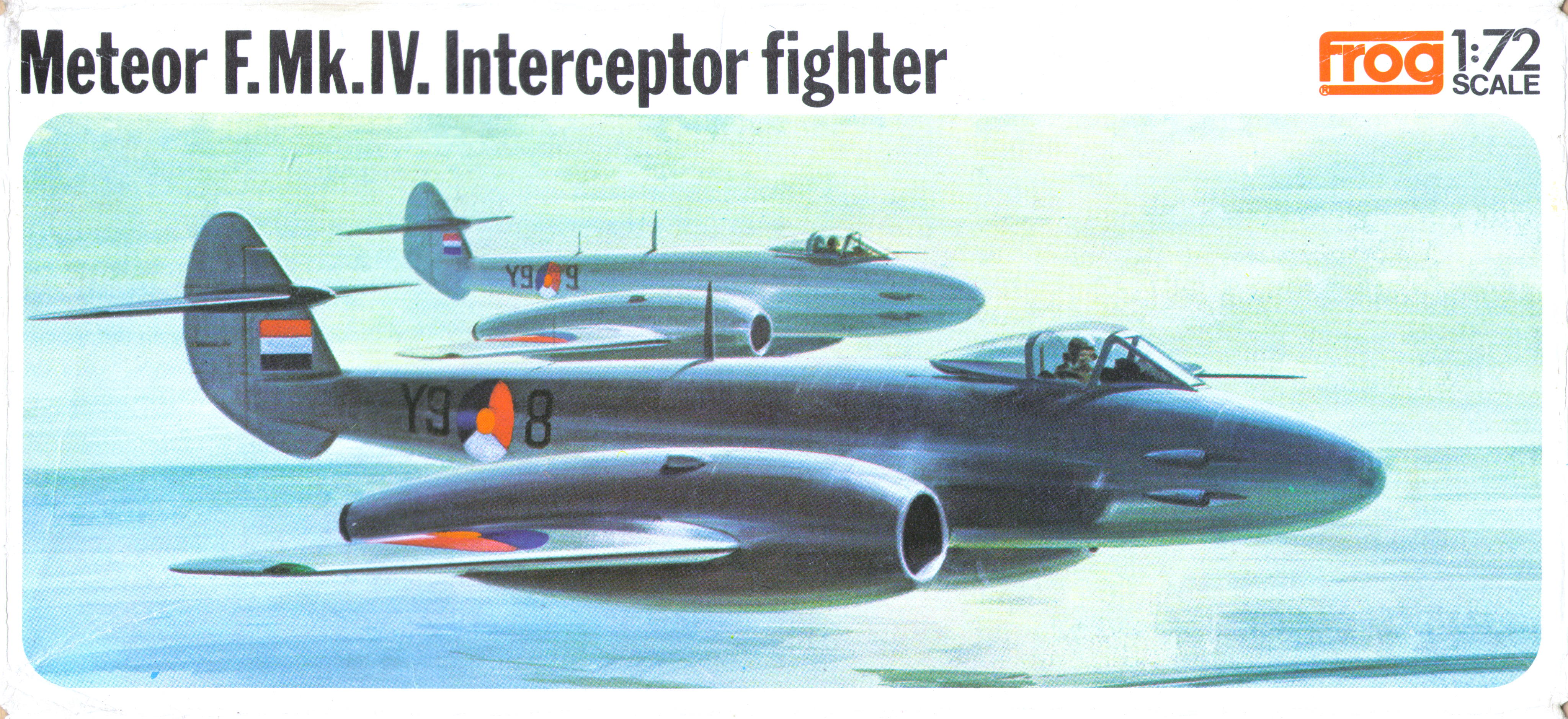 Коробка FROG F200 Gloster Meteor F.Mk.IV Interceptor fighter,