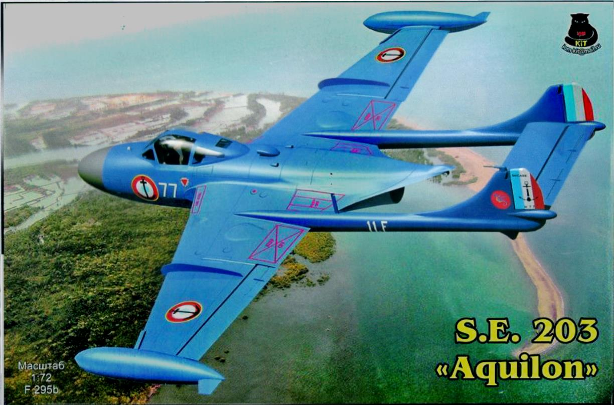 Верх коробки IOM-kit S.E.203 F295b Aquilon, IOM-kit@mail.ru, 2010-s