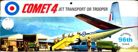 Лепесток W30 Comet 4 jet transport or trooper