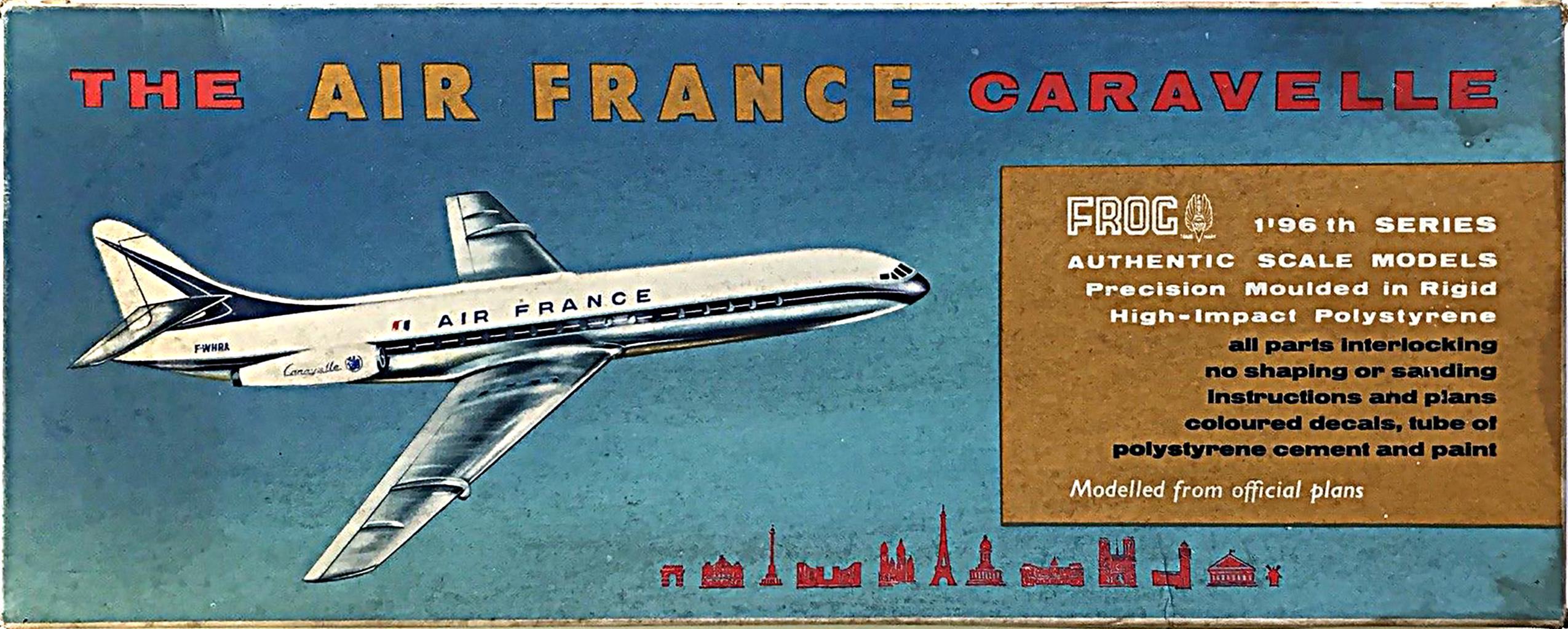 SE-210 Caravelle|FROG 357P Caravelle Air France|FROG F357