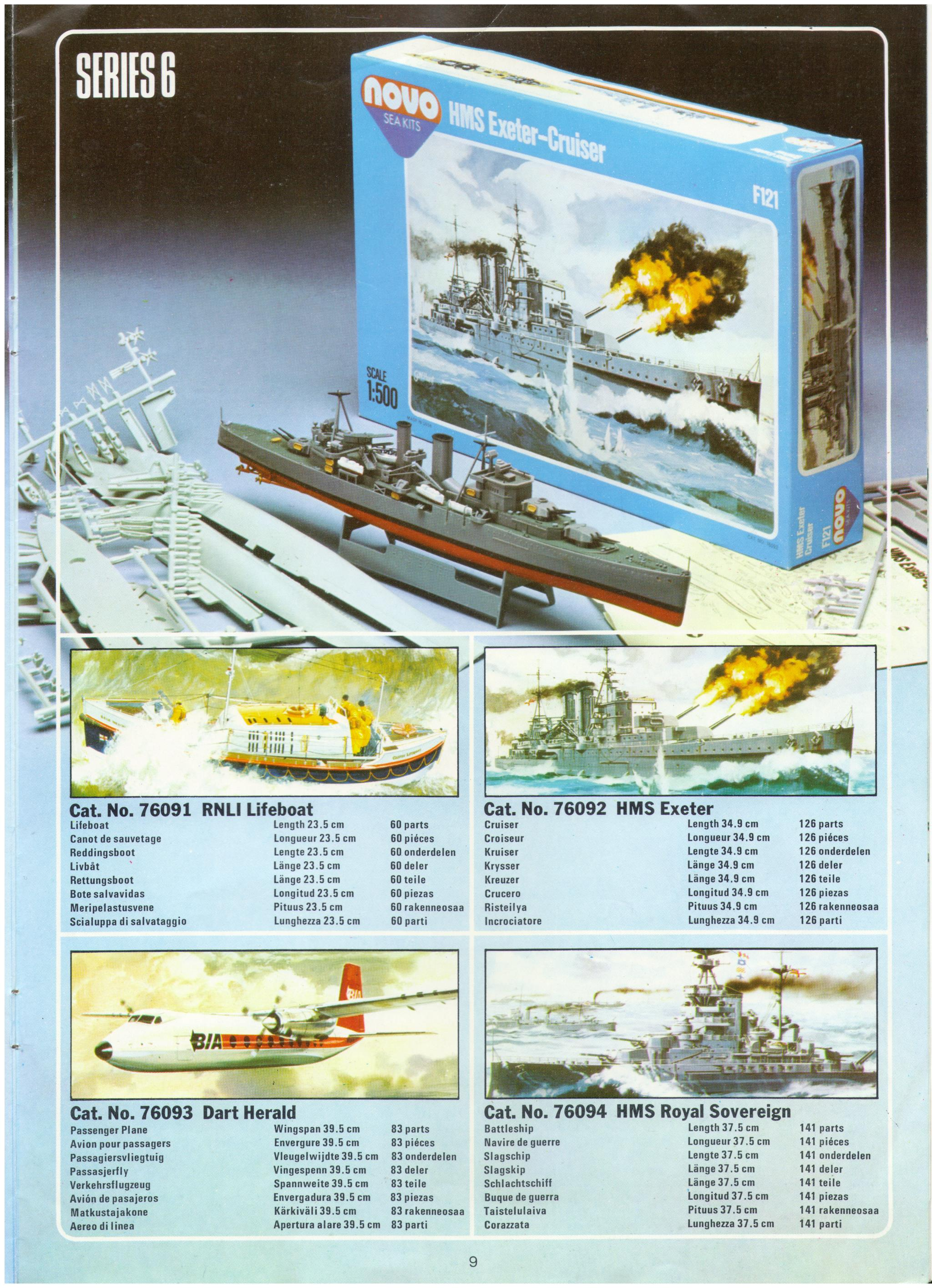 Инструкция по сборке Red Star RS101 Lavochkin LaGG-3, Red Star Model Kits Ltd, 80-s